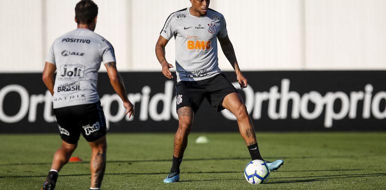 Gustagol - Treino do Corinthians