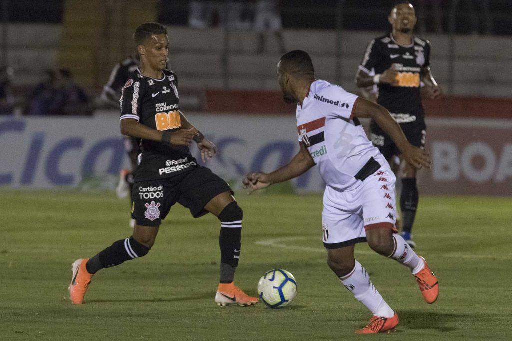 Pedrinho - Botafogo-SP x Corinthians