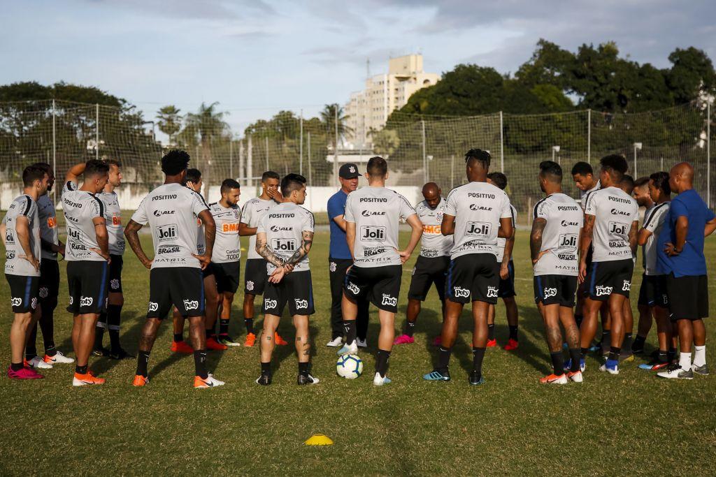 Treino do Corinthians em Fortaleza