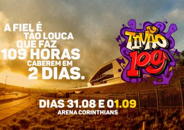 Arena Corinthians - 109 anos