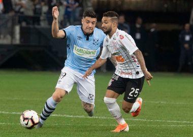 Clayson - Montevideo Wanderers x Corinthians