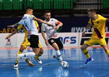 Corinthians 1 x 1 Barcelona - Mundial de Futsal