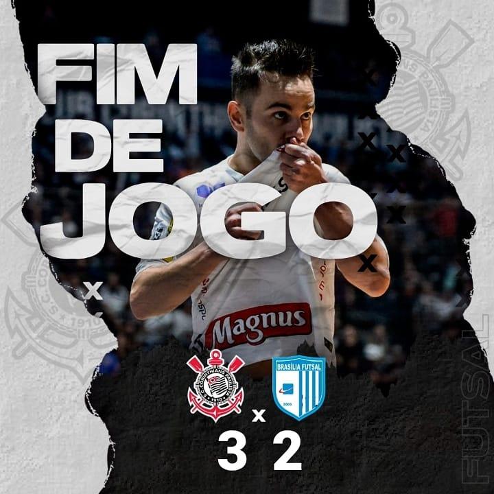 Corinthians 3 x 2 Brasilia