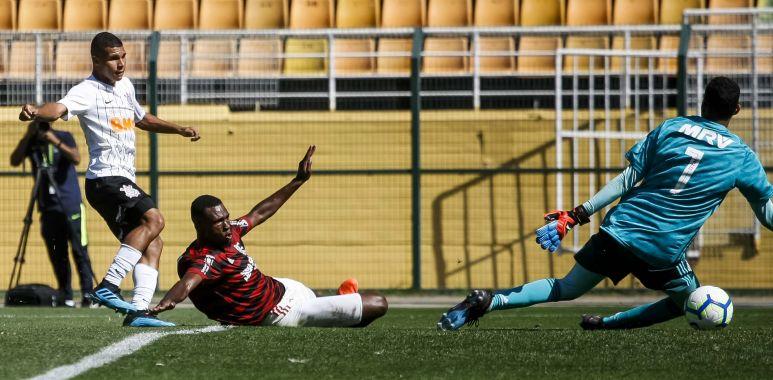 Corinthians 3 x 4 Flamengo - Brasileirão Sub 17