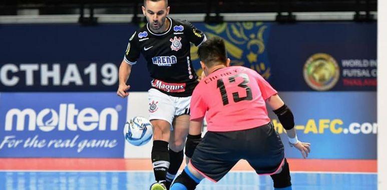 Deives - Corinthians no Mundial de Futsal