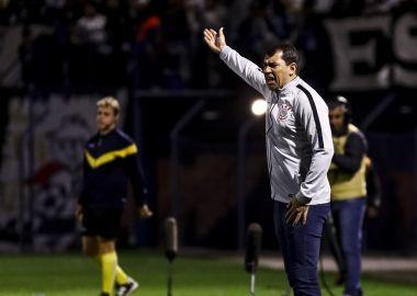 Fabio Carille - Avaí 1 x 1 Corinthians