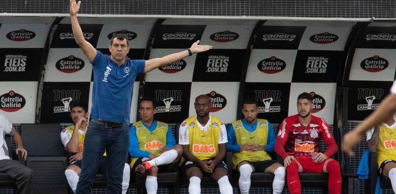 Fabio Carille - Corinthians x Botafogo