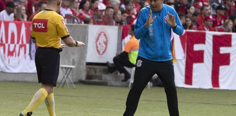 Fabio Carille - Internacional 0 x 0 Corinthians