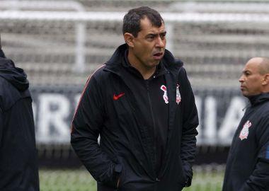 Fabio Carille - Treino Arena Corinthians