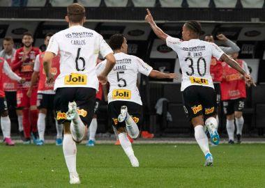 Gol - Junior Urso - Corinthians 2 x 0 Goiás