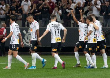 Jogadores - Gol - Corinthians 2 x 0 Botafogo