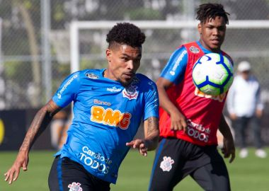 Junior Urso - Treino do Corinthians