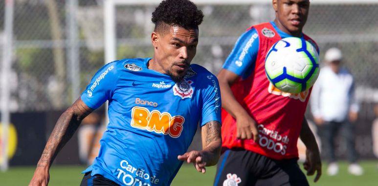 Junior Urso - Treino do Corinthians