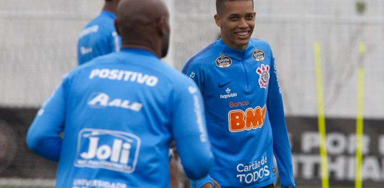 Pedrinho - Treino do Corinthians