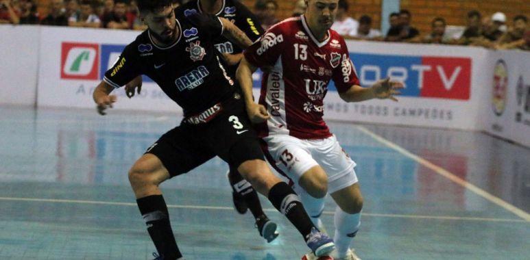Atlantico 2 x 5 Corinthians - Liga Futsal