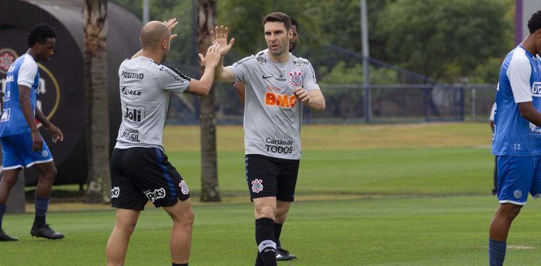 Boselli - Régios - Corinthians 1 x 0 São Bento - Jogo Treino