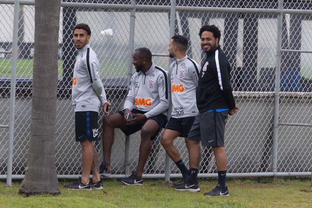 Gabriel - Jogo-Treino no CT do Corinthians