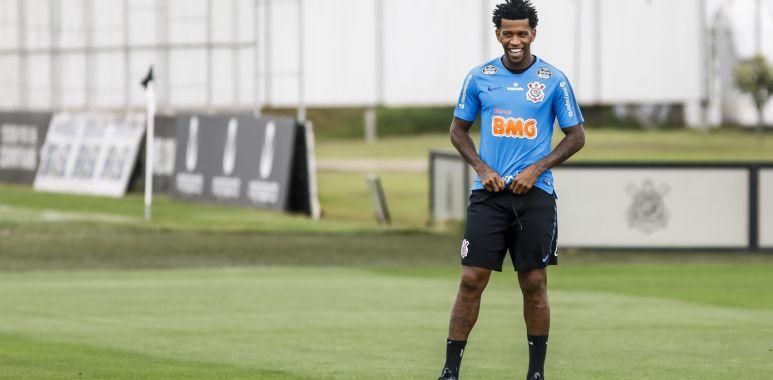 Gil - Treino do Corinthians