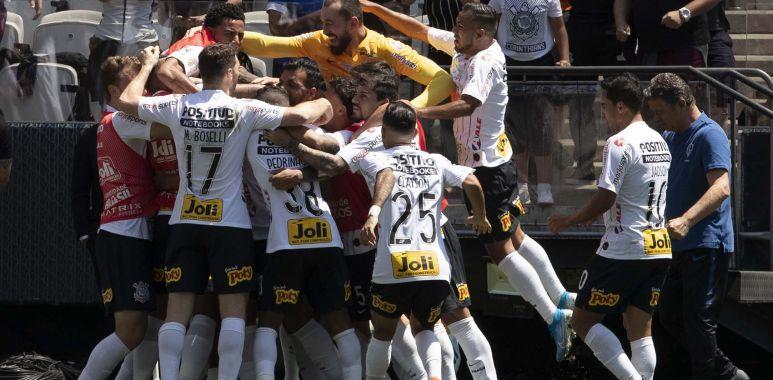 Gol do Corinthians - Arena Corinthians