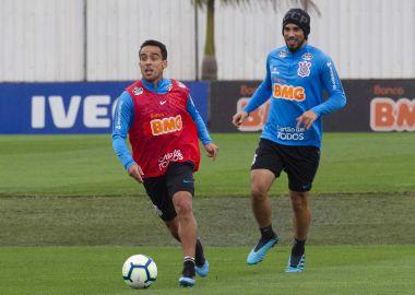 Jadson - Treino do Corinthians