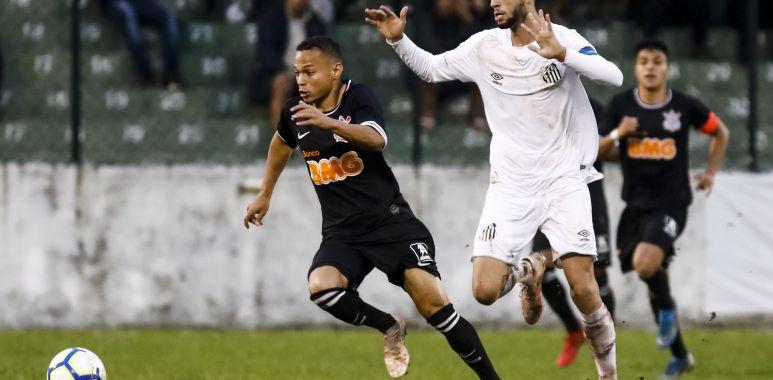 Janderson - Santos x Corinthians - Brasileirão Sub-20