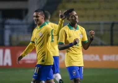 Pedrinho - Brasil 2 x 0 Colombia