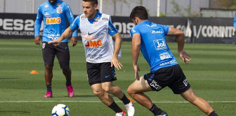 Ramiro - Treino do Corinthians
