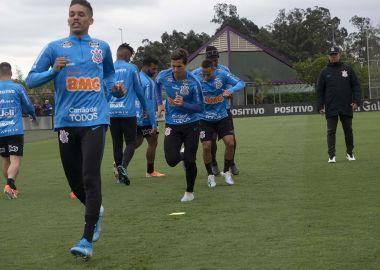 Treino - Jogadores do Corinthians