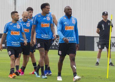 Treino dos Jogadores do Corinthians