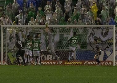 Cassio - Chapecoense x Corinthians