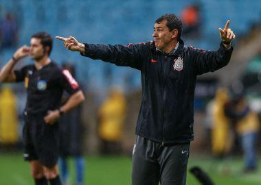 Fabio Carille - Gremio x Corinthians