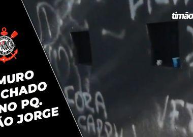Muro Pichado no Corinthians