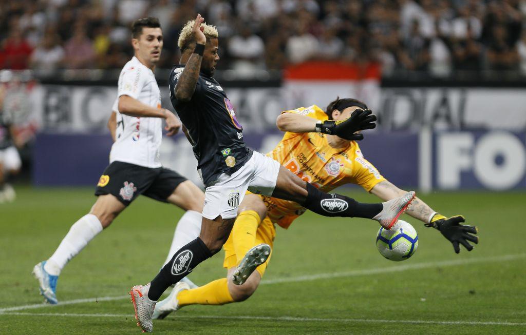 Cassio - Corinthians 0 x 0 Santos