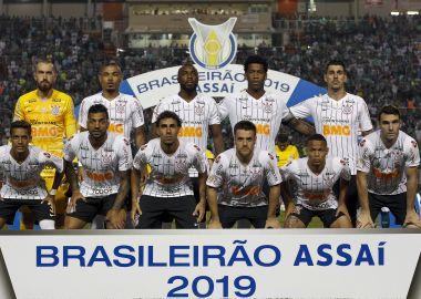 Jogadores do Corinthians - Brasileirão 2019