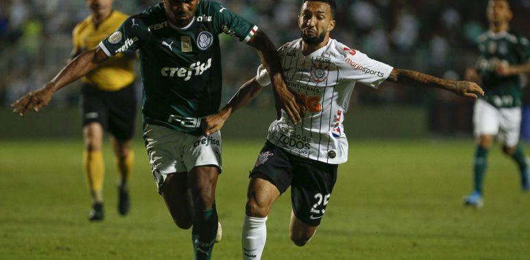 Clayson - Palmeiras x Corinthians