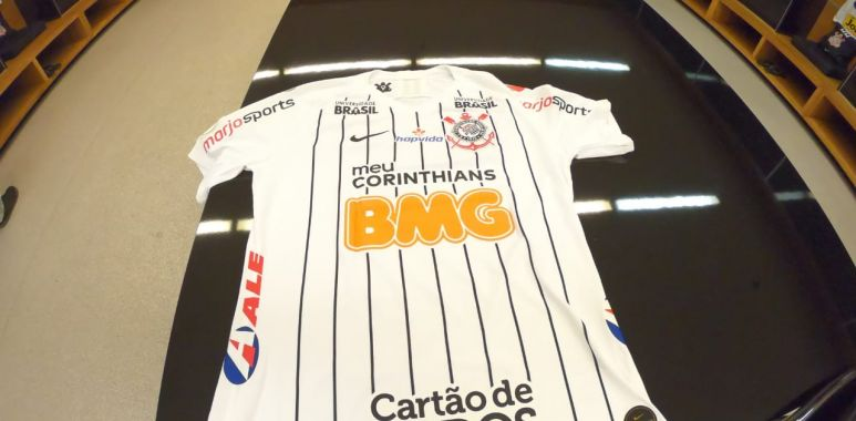 Camisa Corinthians - Patrocinadores