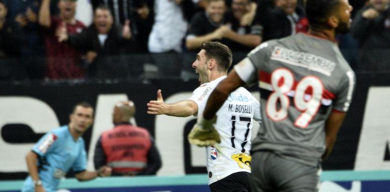 Boselli - Corinthians x Botafogo-SP