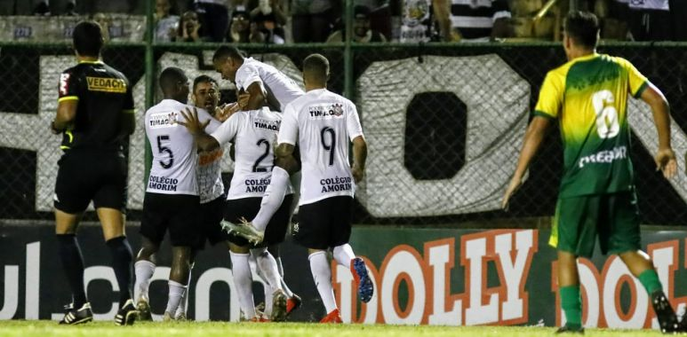 Corinthians 3 x 1 Cuiaba - Copa São Paulo