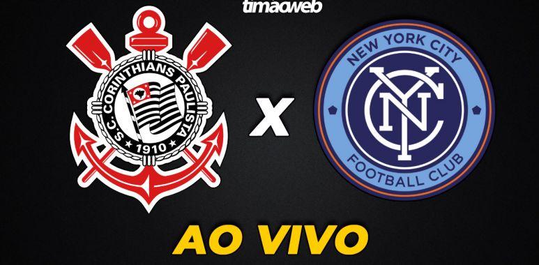 Corinthians x New York City Ao Vivo