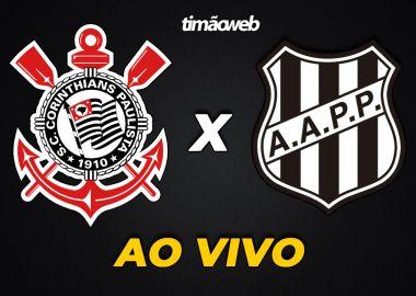 Corinthians x Ponte Preta Ao Vivo - Paulistão 2020