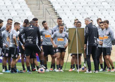 Jogadores - Treino do Corinthians