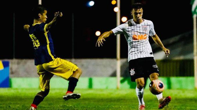 Lucas Piton - Corinthians x Retro - Copa SP 2020