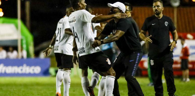 Ronald - Coelho - Corinthians Copa SP