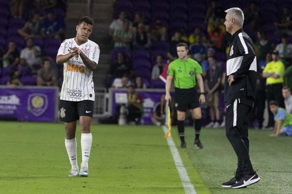 Sidcley - Tiago Nunes - Corinthians