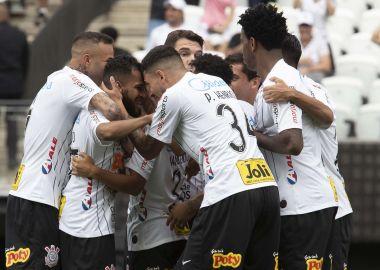 Jogadores do Corinthians - Gol