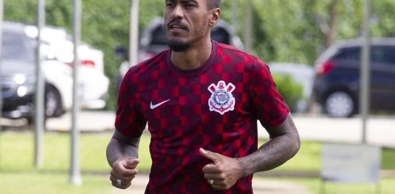Paulinho - Treino Corinthians
