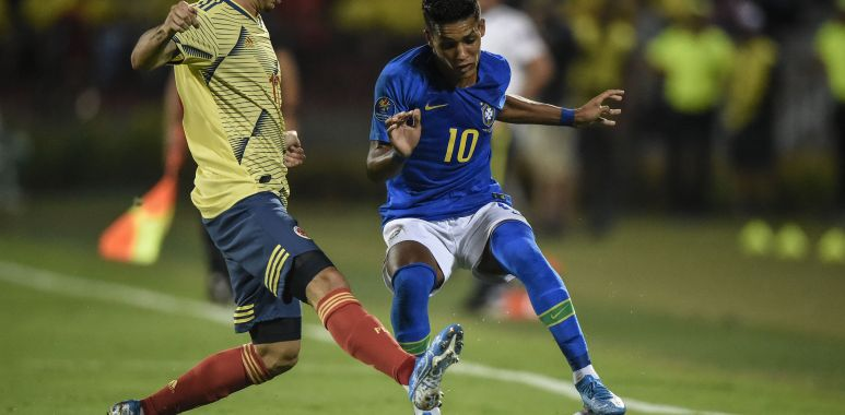 Pedrinho - Brasil x Colômbia