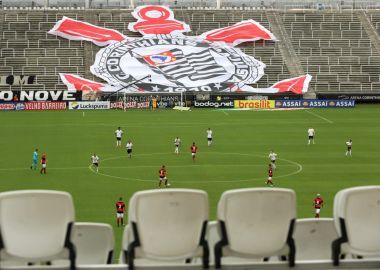 Arena Corinthians - Jogo Sem Torcida