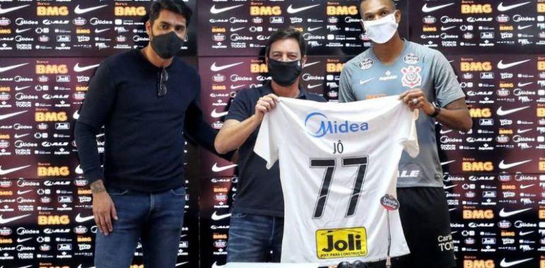 Jo - Apresentação Corinthians - Camisa 77