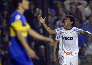 Romarinho - Boca 1 x 1 Corinthians - La Bombonera